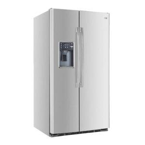 Heladera con freezer no frost 521L Acero Inoxidable Patrick - SBSPK521I