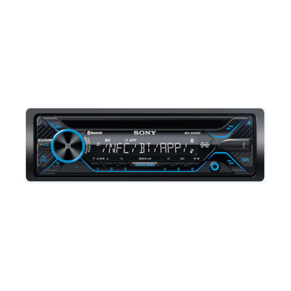 Autoestereo Sony MEX-N4200BT Con CD - MP3 - Bluetooth - USB - Remoto