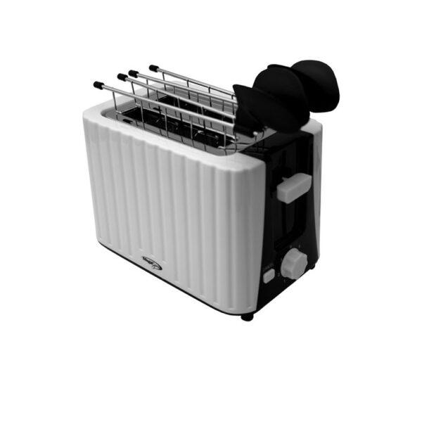 Tostadora Megaexpress Me-480 Electrica 700w Ranura 2 Panes